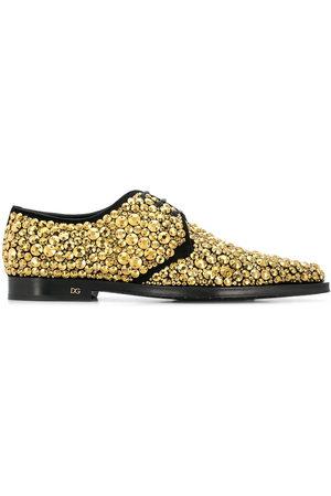Dolce & Gabbana Zapatos derby con diseño bordado de cristales