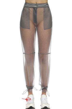 OFF-WHITE | Mujer Pantalones De Malla De Nylon 36