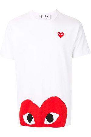 Comme des Garçons Camiseta con logo estampado