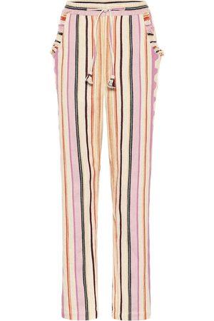 Isabel Marant Pantalones Powlandi de algodón