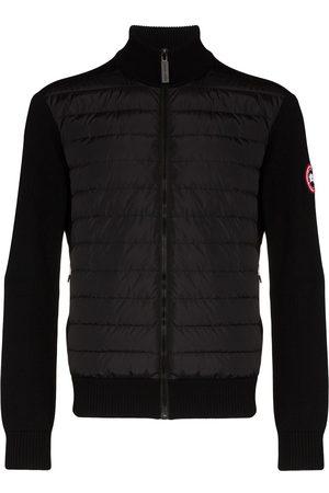 Canada Goose Hybridge wool knit padded jacket