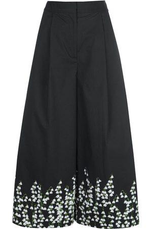 ADAM LIPPES Culottes con motivo floral