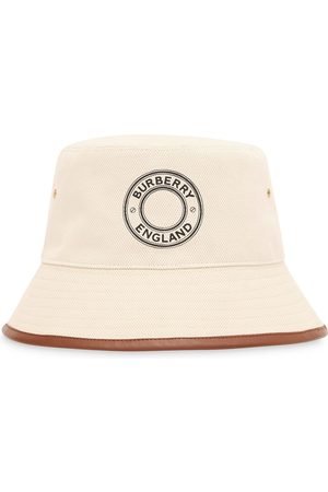 Burberry Mujer Sombreros - Sombrero de pescador con logo estampado