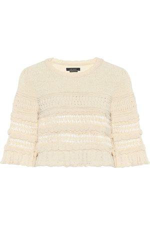 Isabel Marant Jersey cropped Friz de algodón