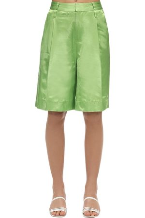 Staud | Mujer Pantalones De Satén 0
