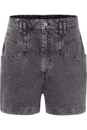 Isabel Marant Shorts de jeans Esquia de tiro alto