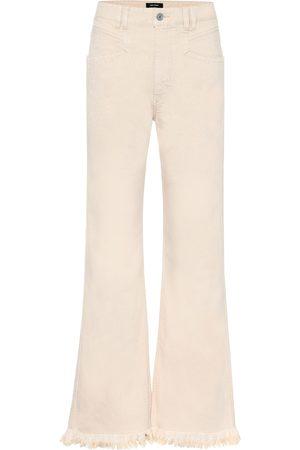 Isabel Marant Jeans anchos Elvira de tiro alto
