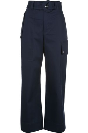 PROENZA SCHOULER WHITE LABEL Pantalones tipo cargo con cinturón