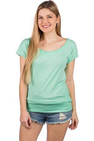 Kazane Mujer Manga corta - Hilde T-Shirt verde