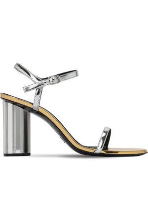 Proenza Schouler | Mujer Sandalias De Charol Sintética Metalizada 90mm 36
