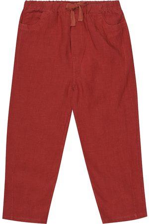 Caramel Niña Pantalones y Leggings - Pantalones Aldgate de lino