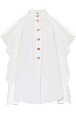 MONSE Camisa de algodón y lino