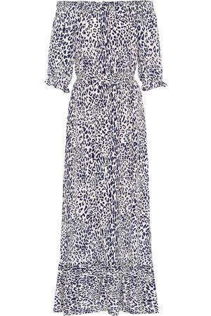 Baum und Pferdgarten Mujer Mini y ajustados - Exclusivo en Mytheresa – vestido midi Abril con estampado de leopardo