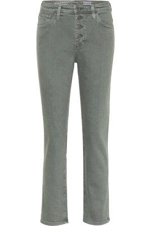 AG Jeans Jeans rectos Isabelle de tiro alto
