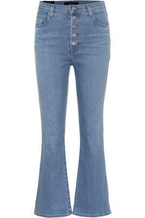 J Brand Jeans flared Lillie de tiro alto