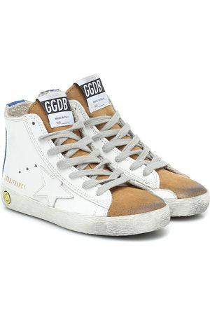 Golden Goose Zapatillas altas Francy de piel