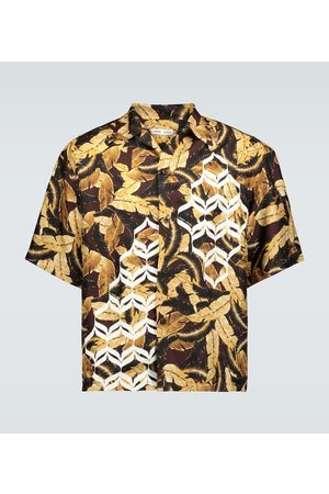 CMMN SWDN Camisa Kim Geometric estampada