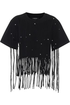 Isabel Marant Camiseta Bianea de algodón
