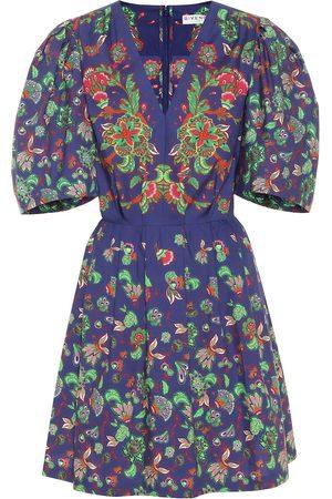 Givenchy Vestido corto con estampado floral