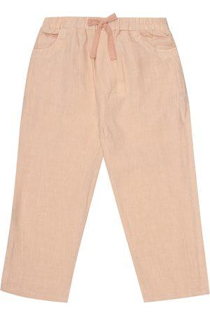 Caramel Pantalones Aldgate de lino