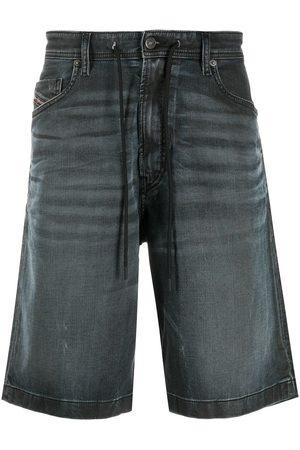 Diesel Hombre Bermudas - Pantalones vaqueros cortos con cordones