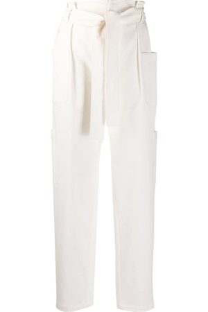 RED Valentino Belted straight-leg cargo trousers