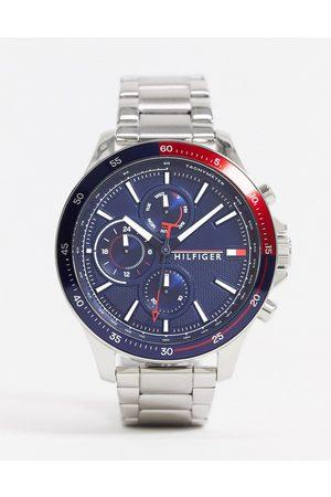 Tommy Hilfiger Reloj de pulsera plateado sunray 1791718 de