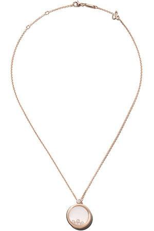 Chopard Collar Happy Diamonds Icons con colgante en oro rosa 18kt