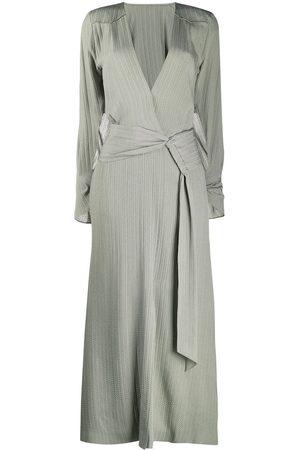 Roland Mouret Silk wrap maxi dress