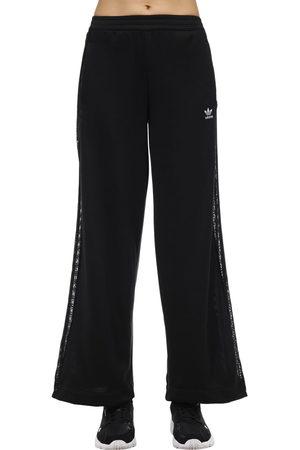 ADIDAS ORIGINALS | Mujer Pantalones De Pierna Ancha Con Bandas Laterales 36