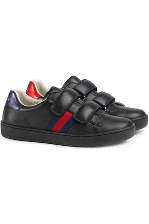 Gucci Zapatillas Children's con detalle de tribanda