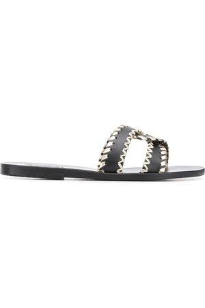 Ancient Greek Sandals Sandalias Desmos