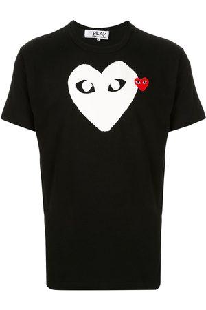 Comme des Garçons Hombre Sin mangas - Camiseta con logo estampado