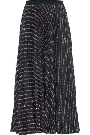 Miu Miu Falda de Crepé de China
