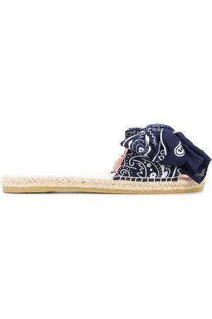 MANEBI Mujer Alpargatas - Alpargatas con estampado bandana