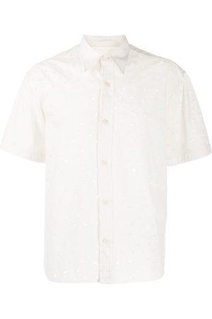 Ami Camisa bordada de manga corta