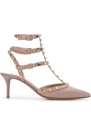 VALENTINO Mujer Tacón - Zapatos de tacón de 65 mm Rockstud Garavani