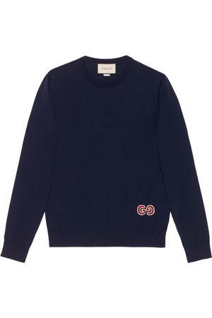 Gucci Jersey con parche del logo