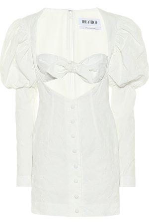 The Attico Vestido corto en mezcla de algodón