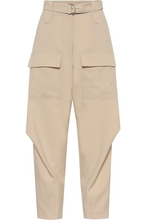 Stella McCartney Pantalones cargo Adaline de lana