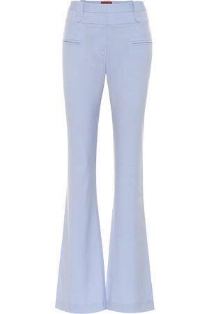 Altuzarra Pantalones Serge de lana elastizada
