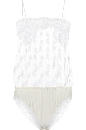 Stella McCartney Body de encaje floral