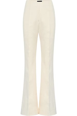Joseph Pantalones Tavi de satén de algodón