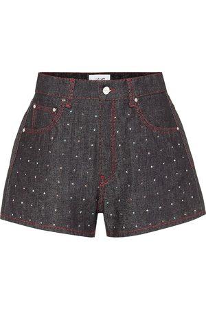 Kirin Shorts de jeans de tiro alto