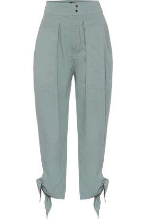 Isabel Marant Pantalones Gaviao de algodón