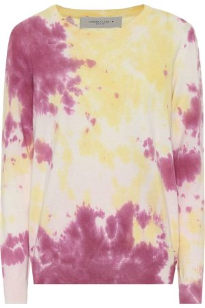 Golden Goose Sudadera de algodón tie-dye