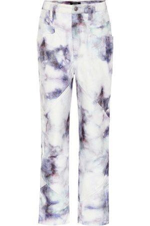 Isabel Marant Jeans rectos Eloisa de tiro alto