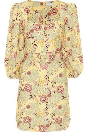 Rebecca Vallance Vestido corto Sahara mezcla de lino
