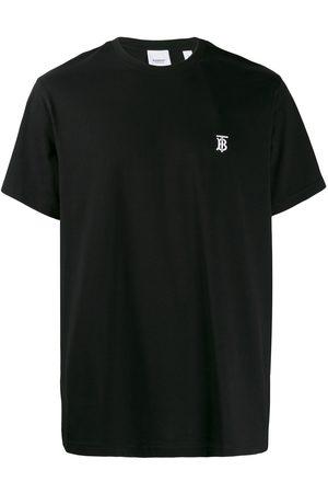 Burberry Camiseta con logo bordado