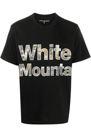 WHITE MOUNTAINEERING Camiseta con logo estampado